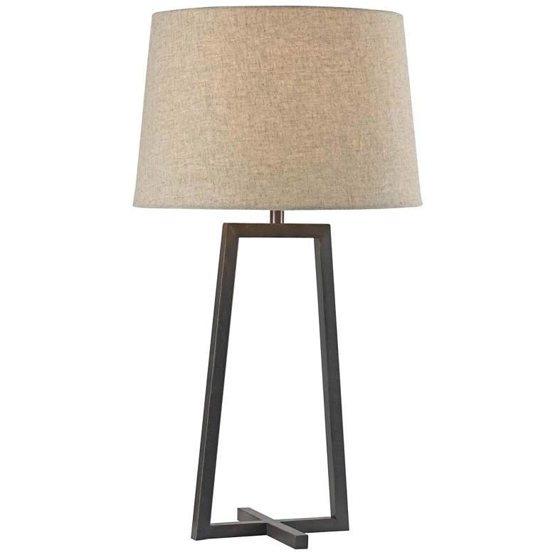 Kenroy Home Ranger Oil Rubbed Bronze Table Lamp