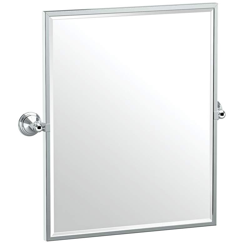 "Gatco Charlotte Chrome 24 1/2"" x 25"" Framed"