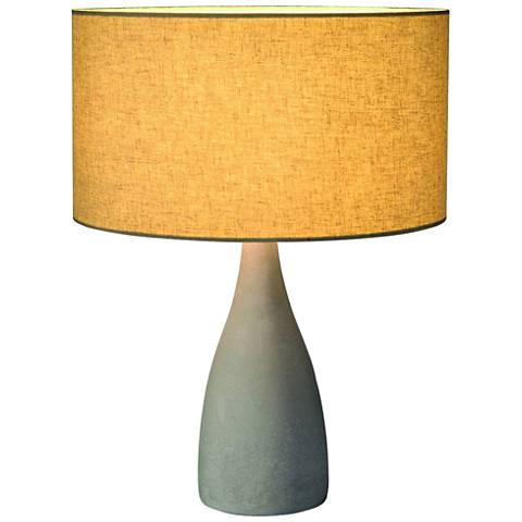 Soprana Concrete Gray Table Lamp
