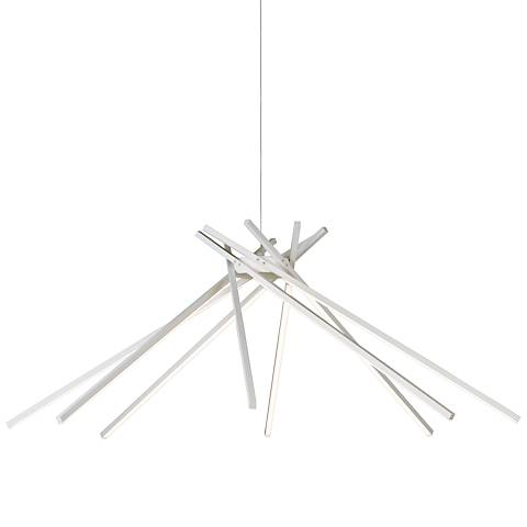 "ET2 Alumilux 44 3/4"" Wide White LED Pendant Light"