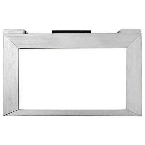 "LINE 2.0 6.94""W Aluminum Edge-lit LED Under Cabinet Light"