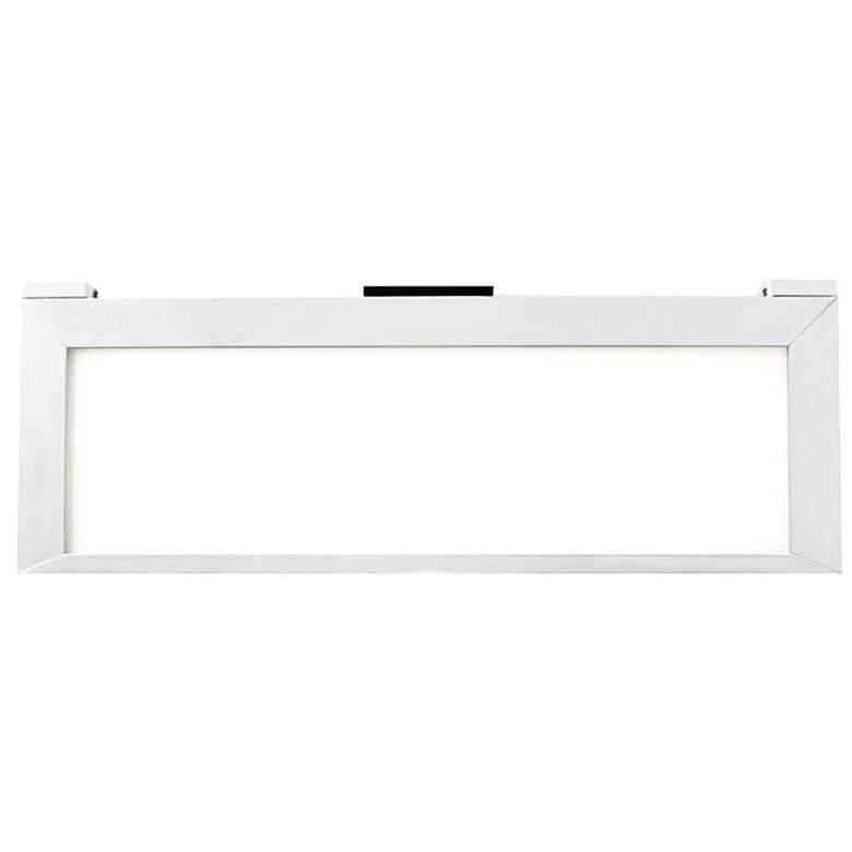 "LINE 2.0 12.75""W White Edge-lit LED Under Cabinet"