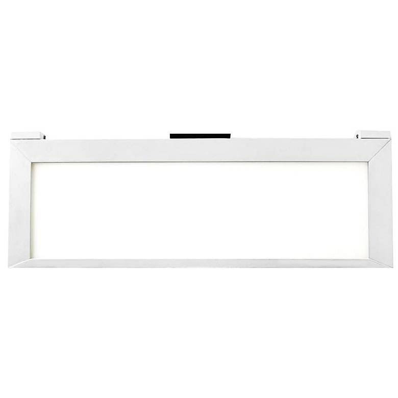 """LINE™ 2.0 12.75""""W White Edge-lit LED Under Cabinet Light"""