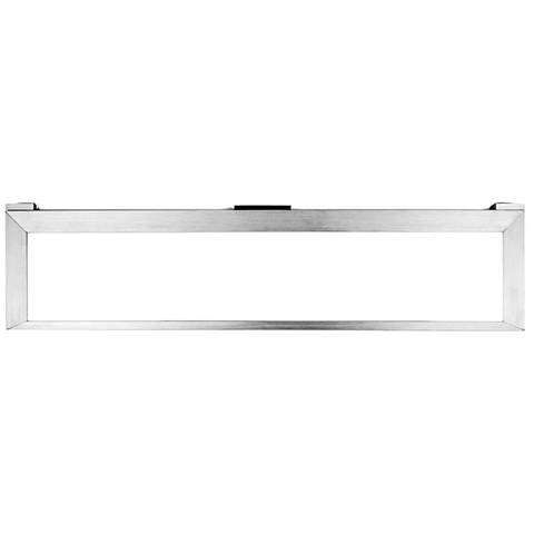 "LINE™ 2.0 18.63""W Aluminum Edge-lit LED Under Cabinet Light"