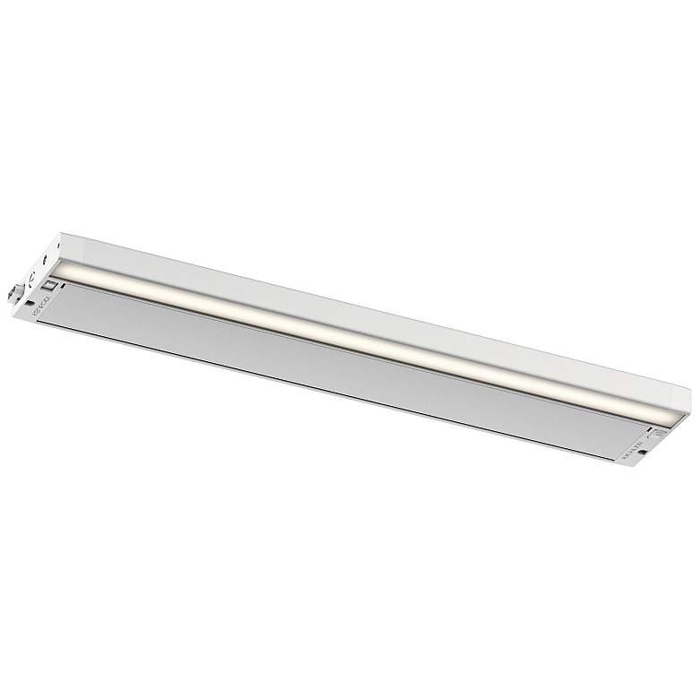 "Kichler 6U 22"" Wide Textured White LED Under Cabinet Light"