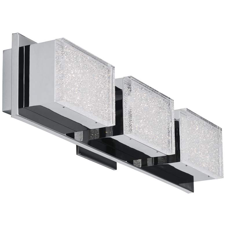 "ET2 Pizzazz LED 22 3/4"" Wide Polished Chrome LED Bath light"