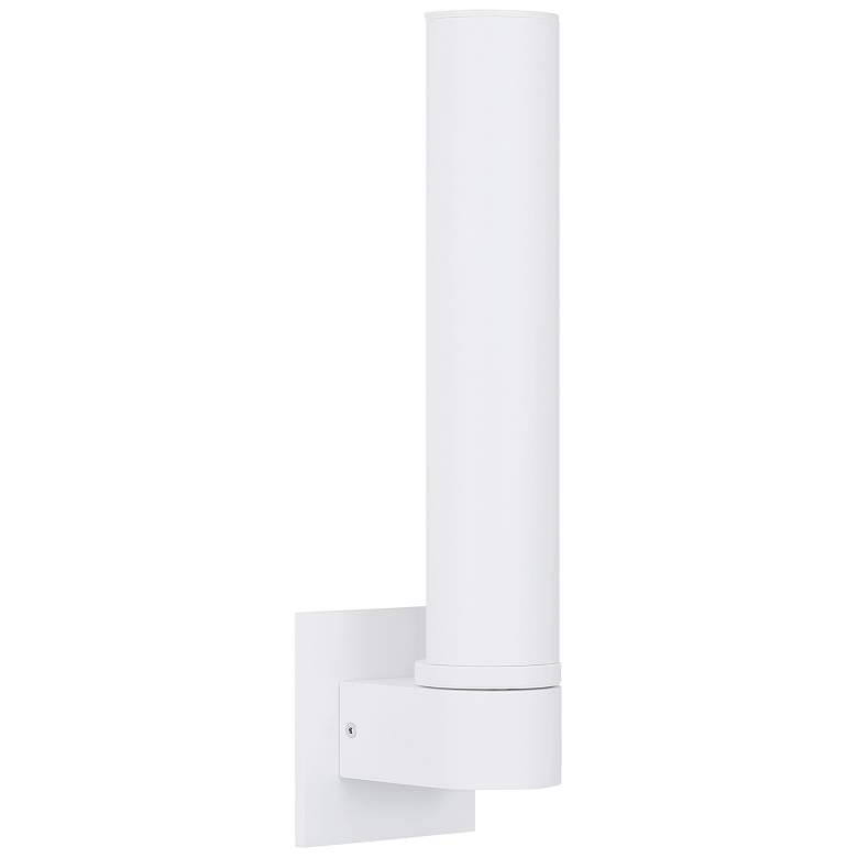 "ET2 Alumilux AL 15 1/4""H Cylindrical White LED Wall Sconce"