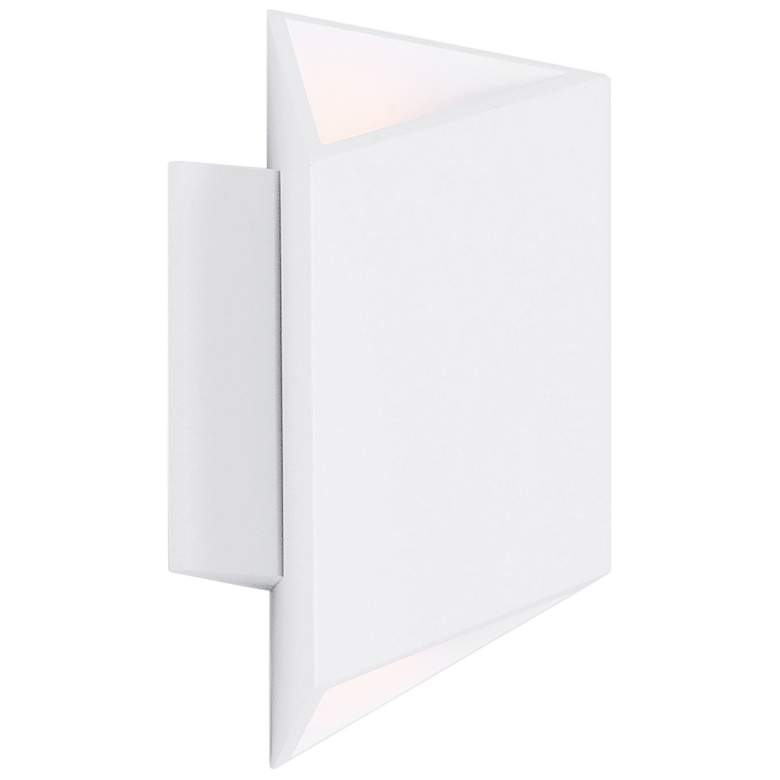 "ET2 Alumilux AL 8 1/2"" High White LED Outdoor Wall Light"