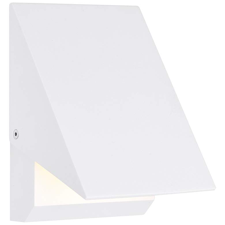 "ET2 Alumilux AL 7"" High White LED Outdoor Wall Light"