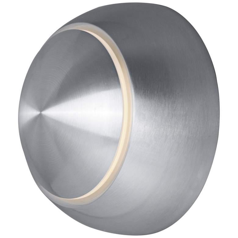 """Alumilux AL 4 3/4""""H Satin Aluminum LED Outdoor"""