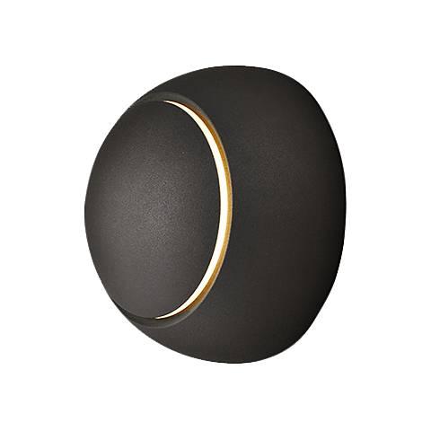 "ET2 Alumilux AL 4 3/4"" High Bronze LED Outdoor Wall Light"