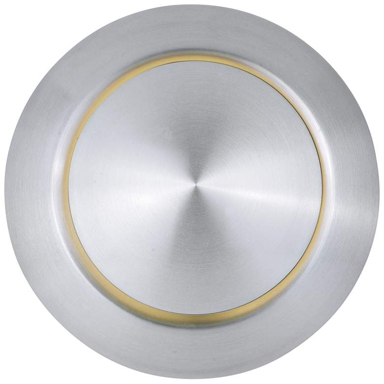 "Alumilux AL 6 1/4""H Satin Aluminum LED Outdoor Wall Light"