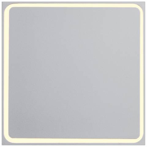 "ET2 Alumilux AL 4 1/2"" High White LED Outdoor Wall Light"