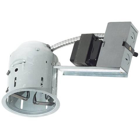 Juno 4 Quot Low Voltage Non Ic Remodel Recessed Light Housing
