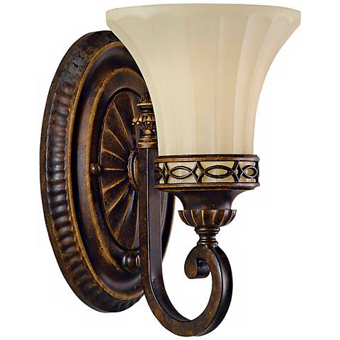 "Feiss Edwardian Collection 10"" High Wall Sconce"