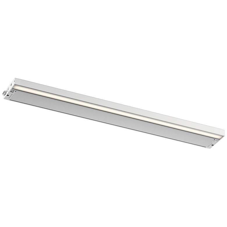"Kichler 6U 30"" Wide Textured White LED Under Cabinet Light"