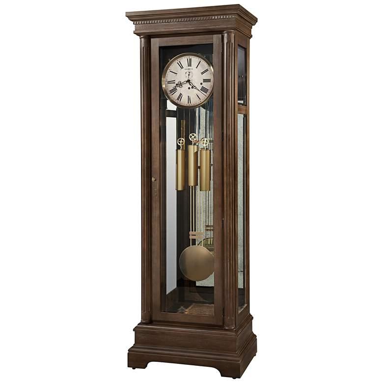 """Howard Miller Stefania Aged Umber 82"""" High Floor Clock"""