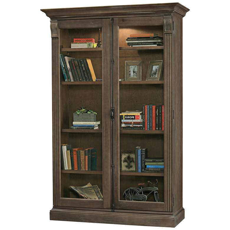 Howard Miller Chadsford III Auburn 2-Door Display Cabinet
