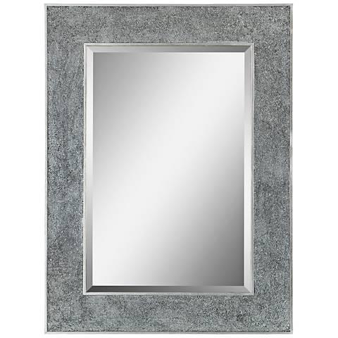 "Helena Silver 30"" x 40"" Rectangular Wall Mirror"