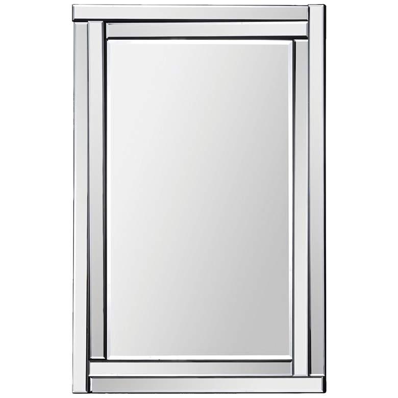 "Ava Glass 24"" x 35"" Rectangular Wall Mirror"