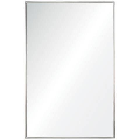 """Crake Stainless Steel 24"""" x 36"""" Rectangular Wall Mirror"""