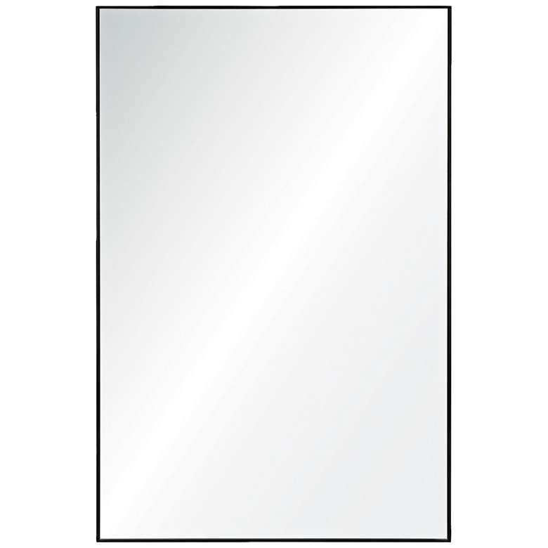 "Vale Charcoal Gray 21"" x 32"" Rectangular Wall Mirror"