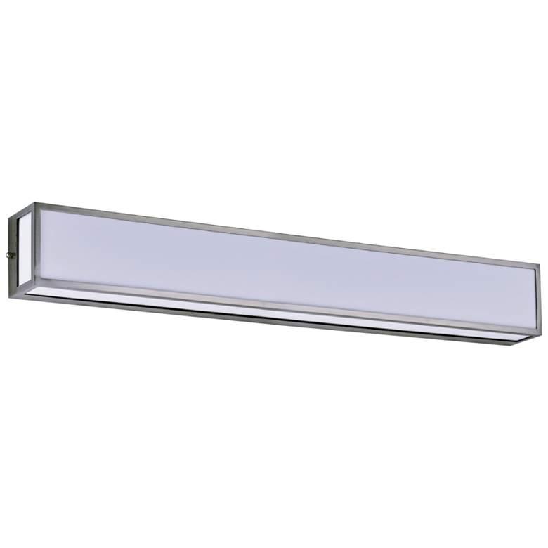 "Maxim Vanity 36"" Wide Satin Nickel LED Vanity Light"