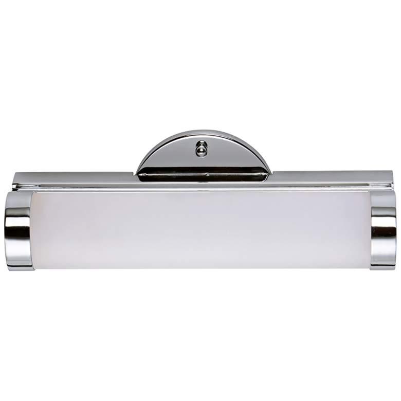 "Maxim Polar 12"" Wide Polished Chrome LED Bath Light"