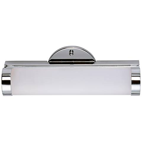 "Maxim Polar 12"" Wide Polished Chrome LED Bath Light"