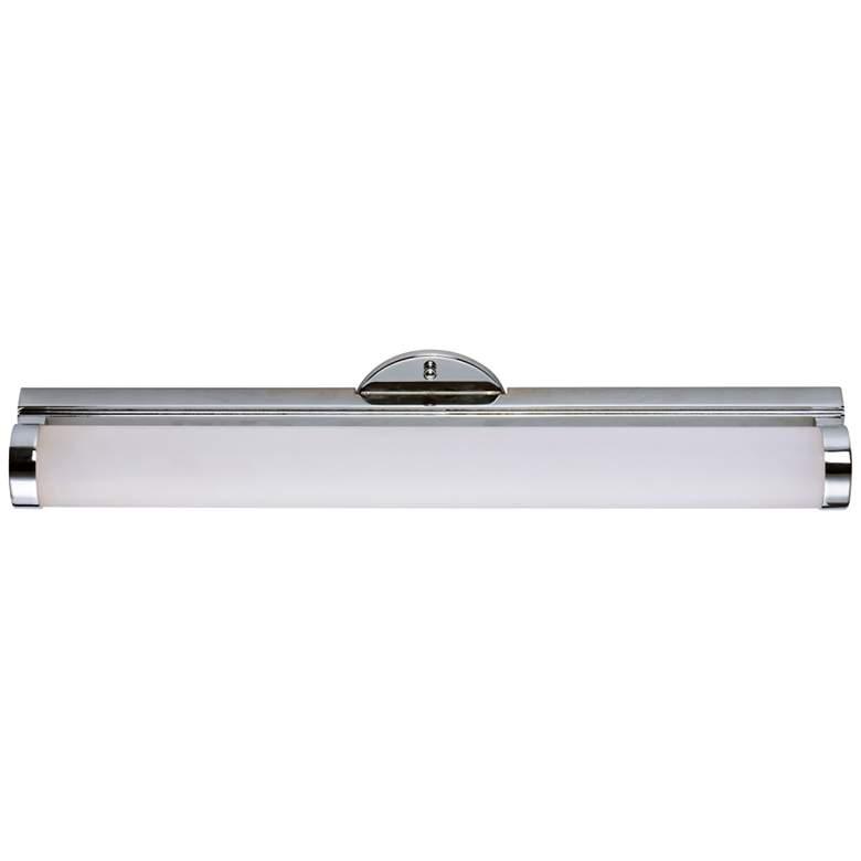 "Maxim Polar 24"" Wide Polished Chrome LED Bath Light"