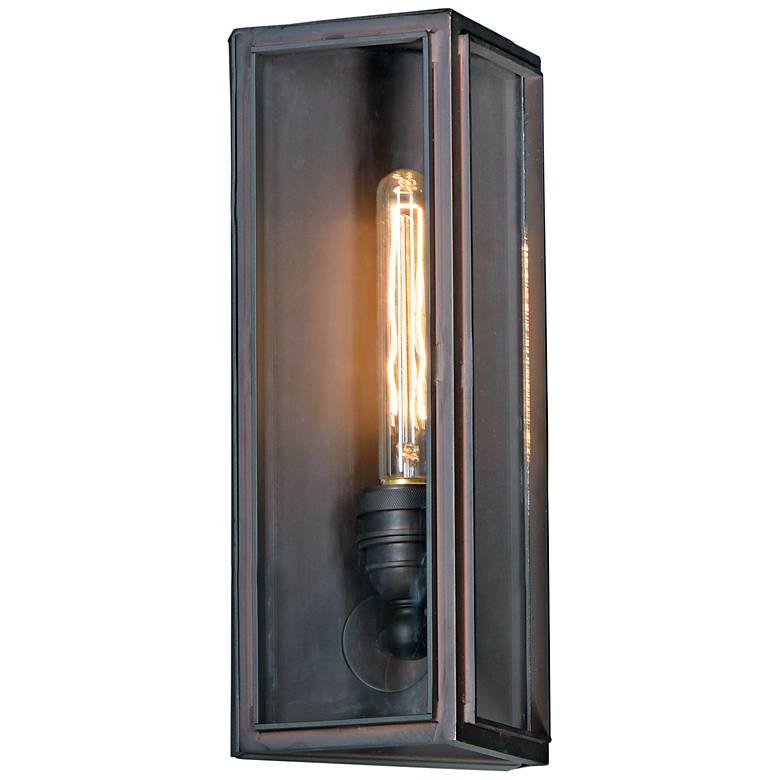 "Maxim Pasadena 11 1/2""H Oil Rubbed Bronze Wall Sconce"