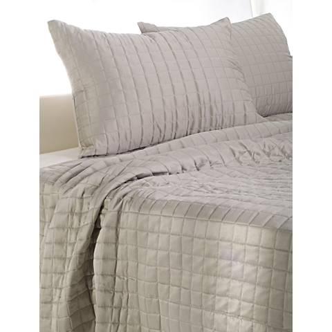 Satinology Moss Fabric Quilt Set