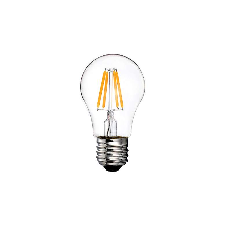40W Equivalent Clear 4W LED Dimmable Standard A15 Bulb