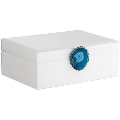 Carillon White-Turquoise Agate 9 1/2