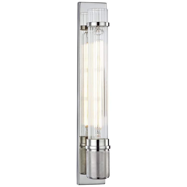 "Hudson Valley Shaw 16 1/2""H Polished Nickel LED"