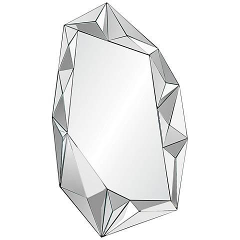 """Galerie Glass 24"""" x 42"""" Irregular Wall Mirror"""