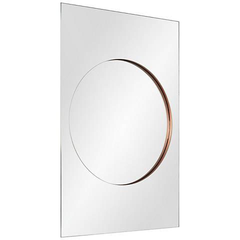 "Geison Glass 24"" x 36"" Wall Mirror"