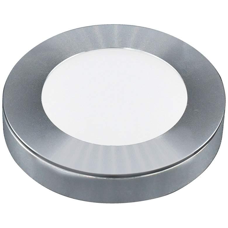 """GM Lighting SDP 2.63""""W Brushed Nickel LED Puck Light"""