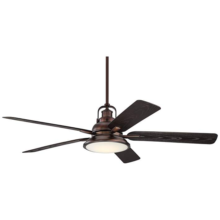 Bronze Finish Led Outdoor Ceiling Fan