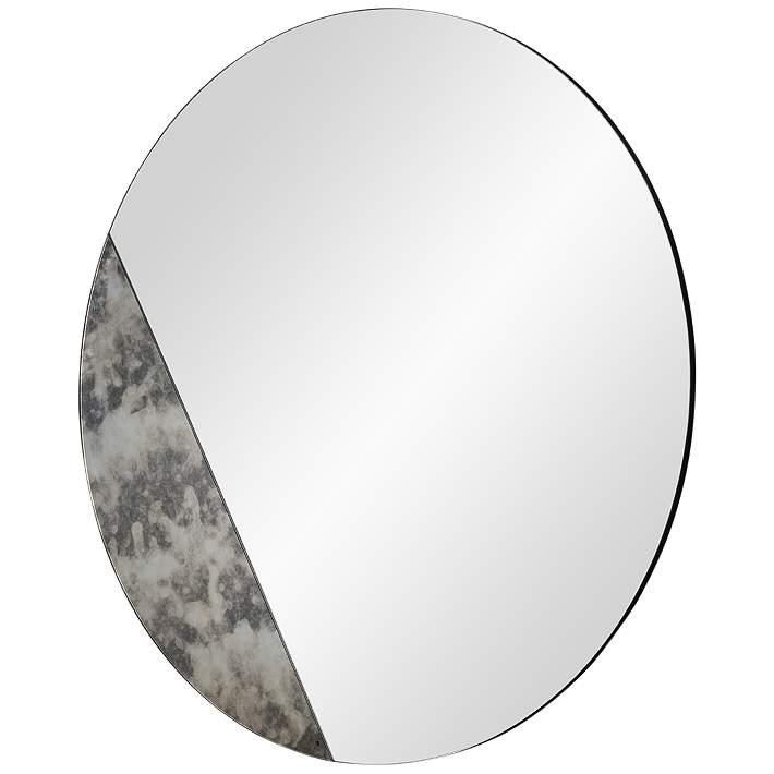 Cella Antique Mirrored 40 Round, 40 Round Mirror
