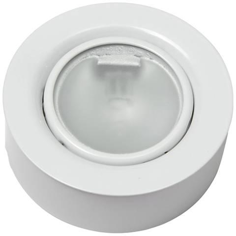 Torres 288 wide white single xenon puck light 24j91 lamps plus torres 288 wide white single xenon puck light aloadofball Images