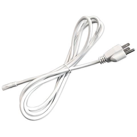 SlimEdge™ Herders 6' White Power Cord