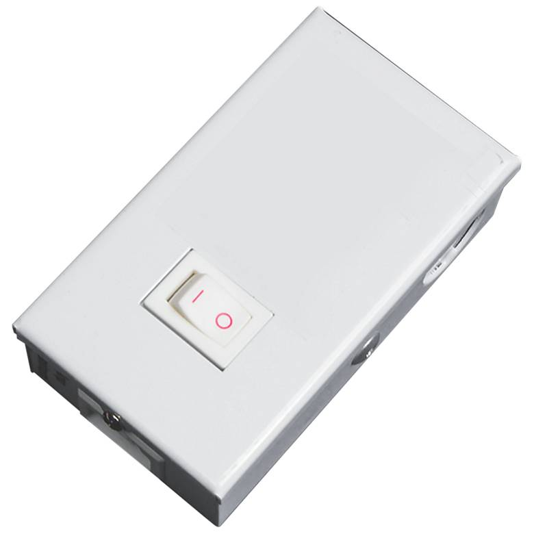 White Quick-Box Junction Box