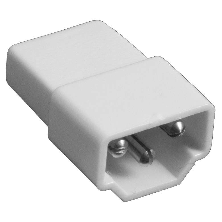 GM Lighting White End-to-End Connector