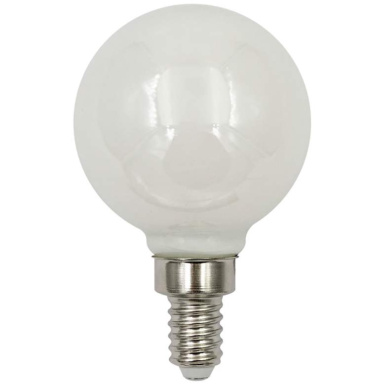 40W Equivalent Frost 4W LED Dimmable Candelabra G16.5