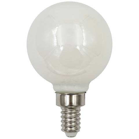 40W Equivalent Frost 4W LED Dimmable Candelabra G16.5 Bulb
