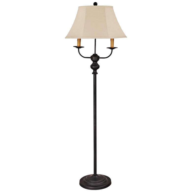 Bayfield Black Metal Floor Lamp