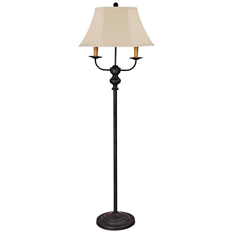 Bayfield Black Metal Floor Lamp