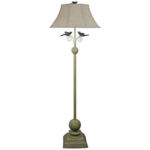 Fly Away Together Paint Metal Floor Lamp