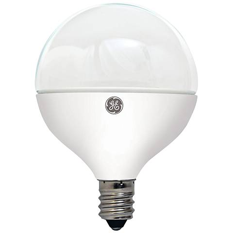 40W Equivalent GE Frosted 5W LED Dimmable Globe Bulb